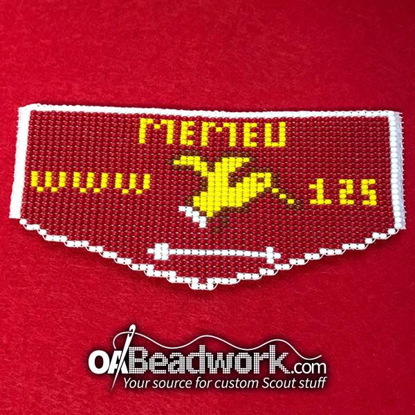 Fully Beaded Memeu Lodge 125 Flap Oabeadwork Com