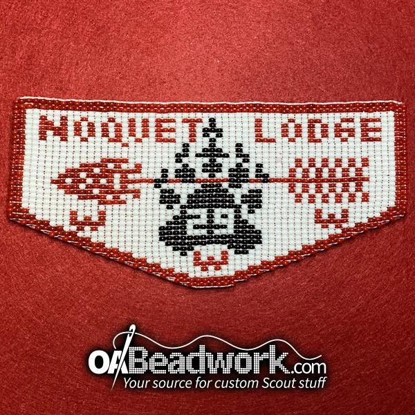 OABeadwork.com | Noquet Flap